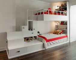 furniture exceptional kids bedroom design combining white bunk