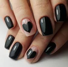 16 ideas for black nail polish that you u0027ll love if you have a cold