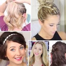Hochsteckfrisuren Selber Machen Halblange Haare by 15 Einfache Und Schnelle Frisuren Bravo