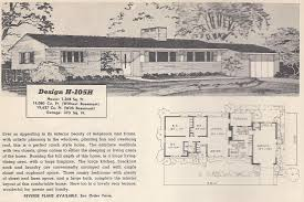 1950s ranch house plans old craftsman bungalow house plans 1950s ranch floor modern