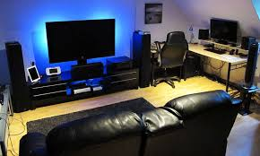 Top 96 Kick Home Office Setups by Great Top Kick Home Office Setups In Room Desk Setup Desk Ideas