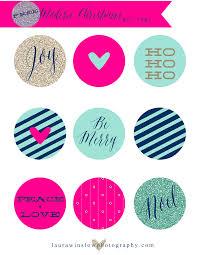 free modern christmas gift tags diy holiday printables