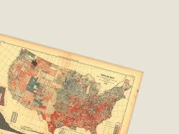 Red States Blue States Map by Red States Blue States 1843