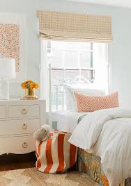 White Twin Headboards by Orange And Blue Pleated Bedskirt With White Twin Headboard