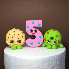shopkins birthday cake topper fondant shopkins cake