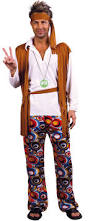 sixties hippie costume for men adults costumes and fancy dress