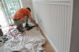 Beadboard Wainscoting Height How To Install Beadboard Wainscoting One Project Closer