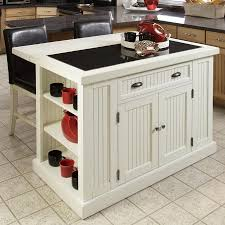Distressed Kitchen Islands Shop Home Styles 48 In L X 37 In W X 36 25 In H Distressed White