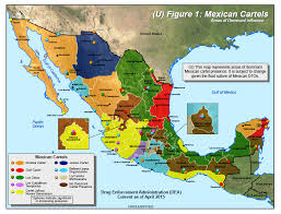 durango mexico map borderland beat 2015 map of major cartels operating in mexico