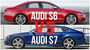 audi s6 vs 2016 audi s7 vs audi s6 comparison
