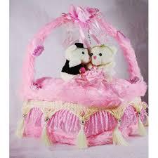 buy beautiful pink valentine decorated heart cake plush cushion