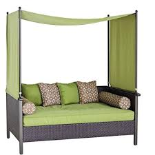 Outdoor Daybed Mattress Outdoor Day Bed Green Relax Enjoy This Wicker