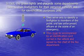 Blue Lights For Firefighters Emergency Vehicle Incident Prevention Ppt Download