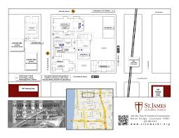 Catholic Church Floor Plans by St James Episcopal Church