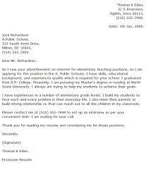 resume cover letters 2 elementary education resume resume badak