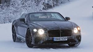 continental bentley new bentley continental gtc goes in a winter wonderland
