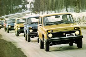 Lada Niva Soviet Russia U0027s Gift To The Auto World