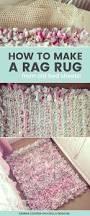how to make a diy rag rug using old bedding rag rug tutorial