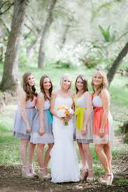 6 ways to do mismatched bridesmaid dresses wedding philippines