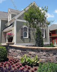 rock planter front retaining wall ideas