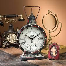 steampunk clock fun u0026 fashionable home accessories and decor