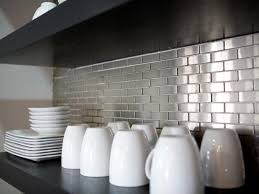 Kitchens With Stainless Steel Backsplash Stainless Steel Backsplashes Pictures Ideas From Hgtv Hgtv