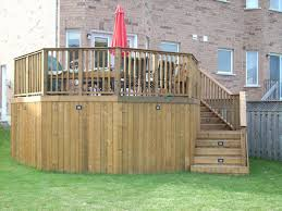 wrap around deck framing wrap around deck with a 45 corner decks u0026 fencing