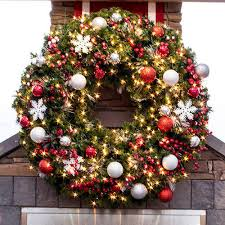 commercial christmas decorations commercial decorations professional decorations