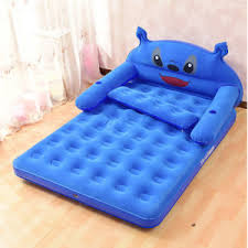 Kids Air Bed China Comfortable Design Inflatable Carton Character Air Bed For
