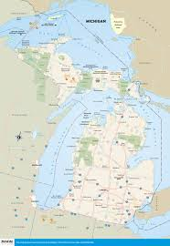 Michigan Casinos Map by Printable Travel Maps Of Michigan Moon Travel Guides