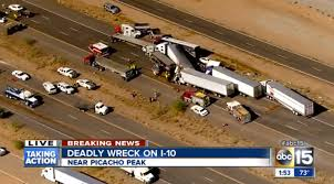 car crashes caused by dust and wind leave 3 dead in arizona