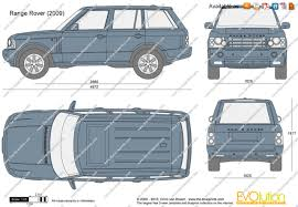 range rover vector the blueprints com vector drawing range rover
