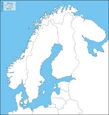 Blank Map Of States by Scandinavia Free Map Free Blank Map Free Outline Map Free Base