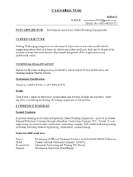 Construction Foreman Resume Mechanical Foreman Resume Free Resume Example And Writing Download