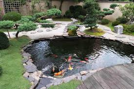 Unique Backyard Ideas by Outdoor And Patio Unique Backyard Fish Pond Ideas Mixed With Rock