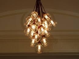 Light Bulb Chandeliers Filament Light Bulb Chandelier Inspiration For An Upcoming Lde