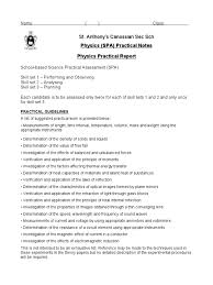 practical notes pp 2010 measuring instrument electrical