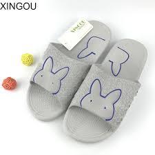 new 2017 plastic bath slippers summer male bathroom slippers cute