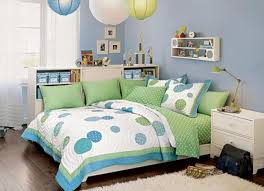 Bedroom Designs For Girls Blue Bedroom Cream Wall Brown Floor Canopi Bed Pink Drawers Picture