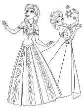 frozen free coloring pages elsa anna olaf sven