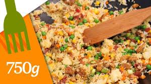 750 grammes recettes de cuisine recette du véritable riz cantonnais 750 grammes a vos baguettes