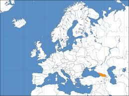 Georgia Country Map Europe Location Geo U2022 Mapsof Net