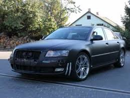 audi s8 matte black audi a8 matt fekete wrapping