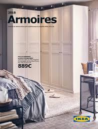 ikea armoire chambre brochure armoires ikea 2018