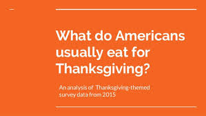 the most common american thanksgiving dishes