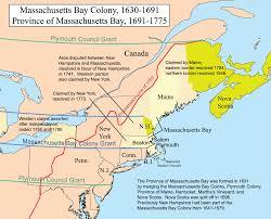 Massachusetts Maps by Massachusetts Bay Colony 1630 1691 And Province Of Massachusetts