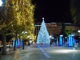 christmas tree of athens at syntagma square picture of athens