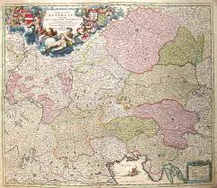 germania map austrian empire germania austiaca complectens s r i circulum
