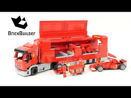 lego racers truck lego racers 8654 scuderia truck lego speed build