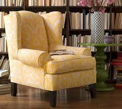 Wing Back Chair Design Ideas Appealing Yellow Club Chair Fabolous Yellow Wingback Chair Design